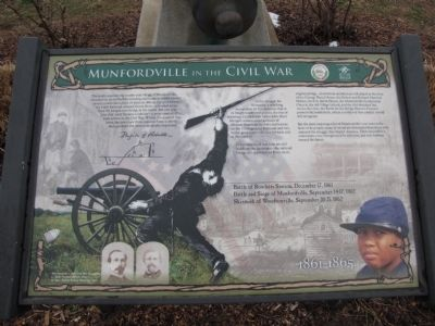 Munfordville in the Civil War Marker image. Click for full size.