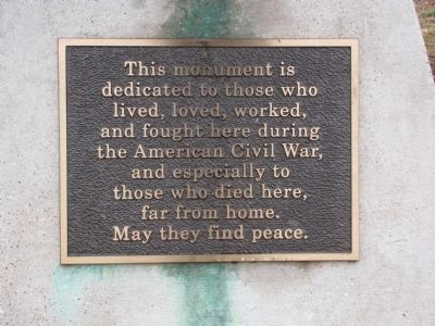 Munfordville Civil War Monument image. Click for full size.