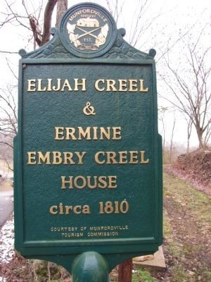 Elijah & Ermine Embry Creel House image. Click for full size.