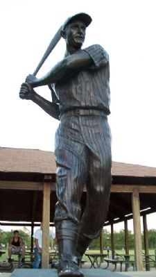 James B. 'Mickey' Vernon Statue image. Click for full size.