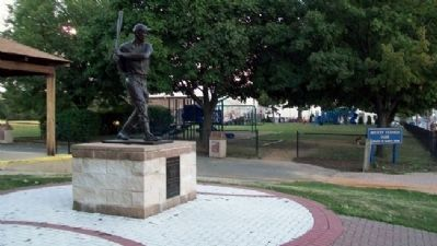 James B. 'Mickey' Vernon at Mickey Vernon Park image. Click for full size.