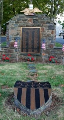 Marcus Hook First Ward Veterans Memorial image. Click for full size.