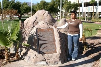 History of the Fort Mojave Tribe Marker image. Click for full size.