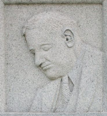 William Allen White Image on Marker image. Click for full size.
