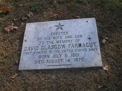 David Glasgow Farragut Marker image. Click for full size.