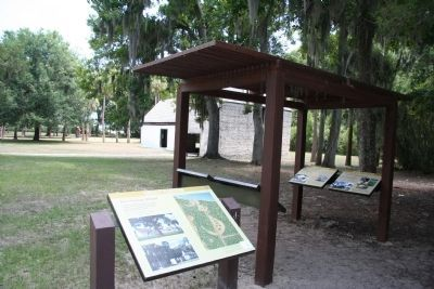 Kingsley Plantation, Fort George Island, Marker image. Click for full size.