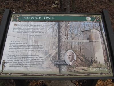 The Pump Tower Marker image. Click for full size.