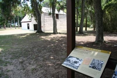 Kingsley Plantation Marker image. Click for full size.