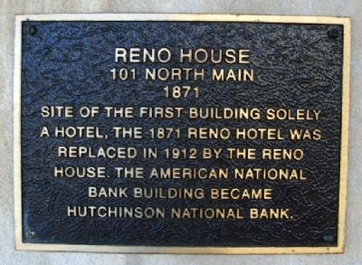 Reno House Marker image. Click for full size.