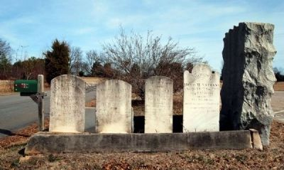 McClimons Memorial Marker and Tombstones image. Click for full size.