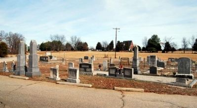 Liberty Hill United Methodist Church Cemetery image. Click for full size.