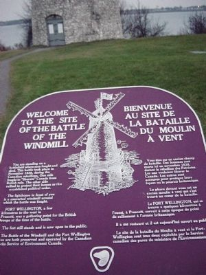 The Battle of the Windmill Marker image. Click for full size.