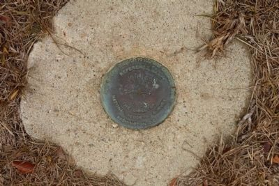 Site of Fort Johnson National Geodetic Survey 1934, 1983, No. 3 image. Click for full size.