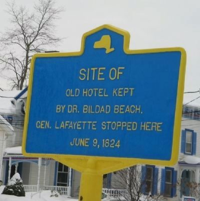 Site of Old Hotel Marker image. Click for full size.