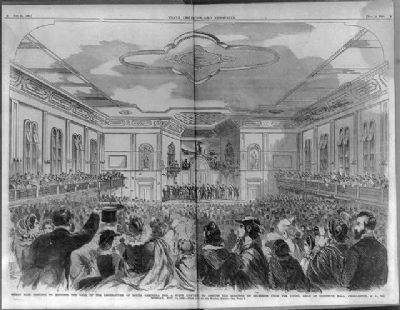 """Great mass meeting to endorse the call of the legislature of South Carolina...."" image. Click for full size."