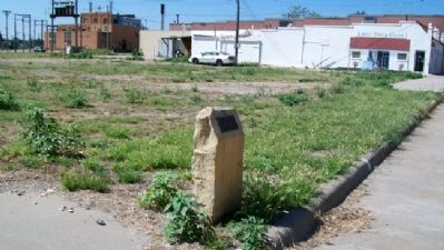 Site of the Larned House Marker image. Click for full size.
