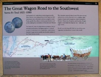 The Great Wagon Road to the Southwest Marker image. Click for full size.