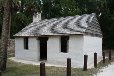 Slaves Cabins image. Click for full size.