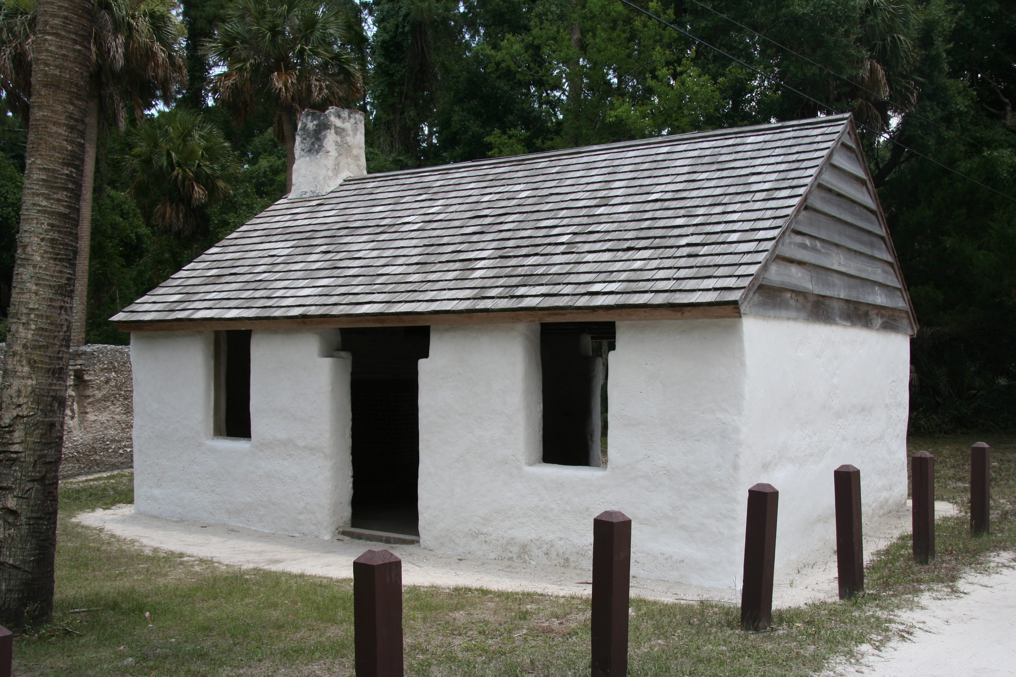 Slaves Cabins