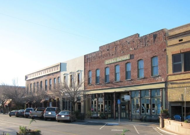 Historic Main St. in Winters image. Click for full size.