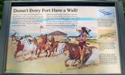 Doesn't Every Fort Have a Wall? Marker image. Click for full size.
