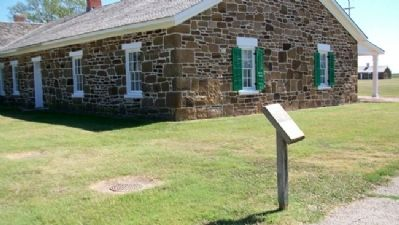 Well, Adobe Hospital & Hospital Steward's Quarters Marker image. Click for full size.