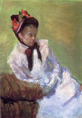 Mary Cassatt - Selfportrait - Metropolitan Museum of Art (NY) image. Click for full size.