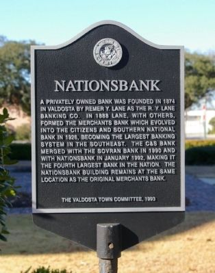 Nationsbank Marker image. Click for full size.
