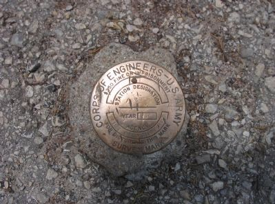Nearby Survey Marker Disk image. Click for full size.