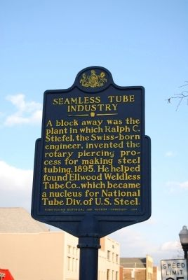 Seamless Tube Industry Marker image. Click for full size.