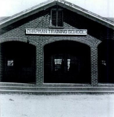 Chapman Training School image. Click for full size.