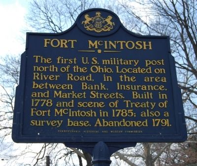 Fort McIntosh Marker image. Click for full size.