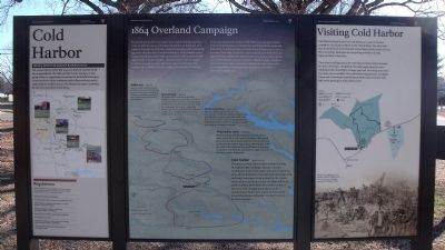 Cold Harbor Marker image. Click for full size.