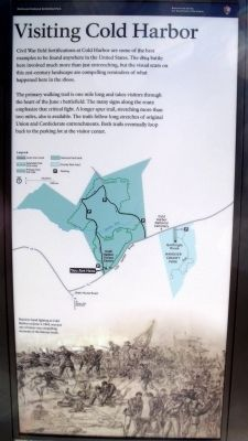 Cold Harbor Marker (right panel) image. Click for full size.