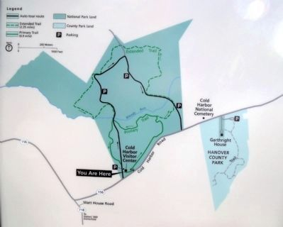 Cold Harbor Walking Trails image. Click for full size.
