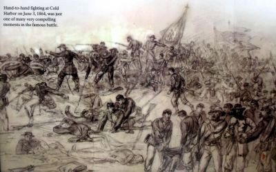 Combat at Cold Harbor image. Click for full size.
