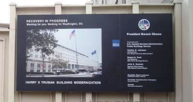 """Harry S. Truman Building Modernization"" image. Click for full size."