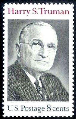 President Harry S. Truman image. Click for full size.