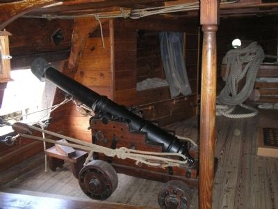 Below Decks of the Susan Constant image. Click for full size.