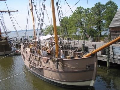 The Discovery at Jamestown image. Click for full size.