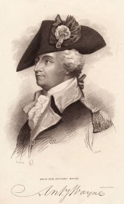 Anthony Wayne (1745–1796), American general image. Click for full size.