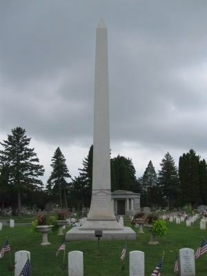 Soldier and Sailor Monument image. Click for full size.