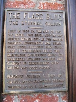 The Flagg Building Marker image. Click for full size.