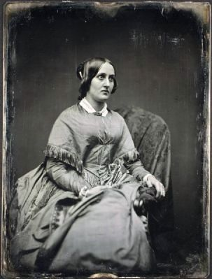 Grace Greenwood (Sara Jane Clarke Lippincott) image. Click for full size.