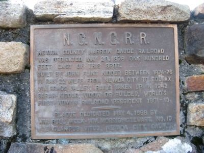 N.C.N.G.R.R. Marker image. Click for full size.