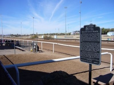 Rillito Race Track Marker image. Click for full size.