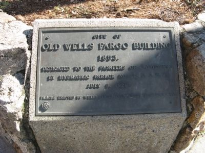 Old Wells Fargo Building Marker image. Click for full size.