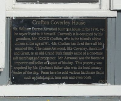 Crofton Coverley House Marker image. Click for full size.