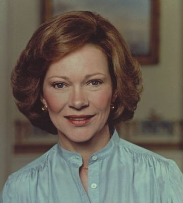 Rosalynn Smith Carter image. Click for full size.