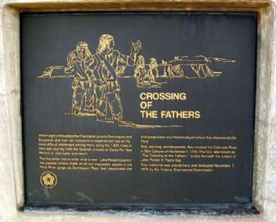 Crossing of the Fathers Marker image. Click for full size.